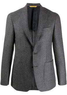 Canali single-breasted wool blazer
