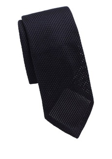 Canali Woven Texture Silk Tie