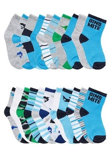 Capelli New York Baby Boy's & Little Boy's 20-Pack Crew Socks