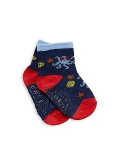 Capelli New York Baby Boy's & Little Boy's 6-Pack Logo Crew Socks