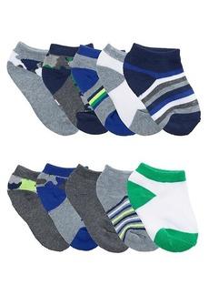 Capelli New York Boy's 10-Pack Low-Cut Socks