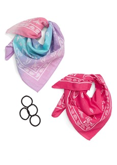 Capelli New York Multi-Functional Bandana & Ponytail Holder Set (Kid)
