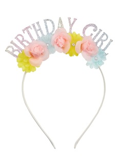 Capelli New York Kids' Birthday Girl Glitter Headband