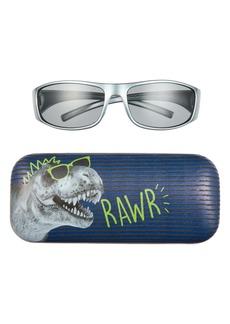 Capelli New York Kids' Rawr Sunglasses & Case Set