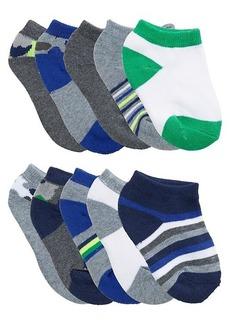 Capelli New York Little Boy's 10-Pack Low-Cut Socks