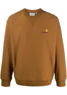 Carhartt American Script branded sweatshirt