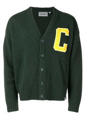 Carhartt C patchwork cardigan