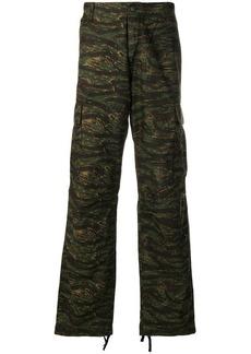 Carhartt camo cargo trousers