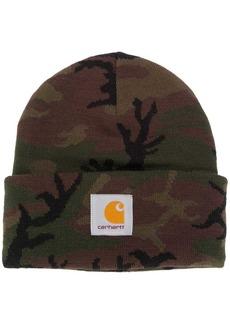 Carhartt camouflage-print beanie