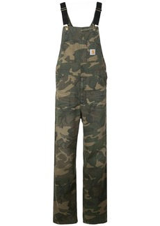 Carhartt camouflage print overalls