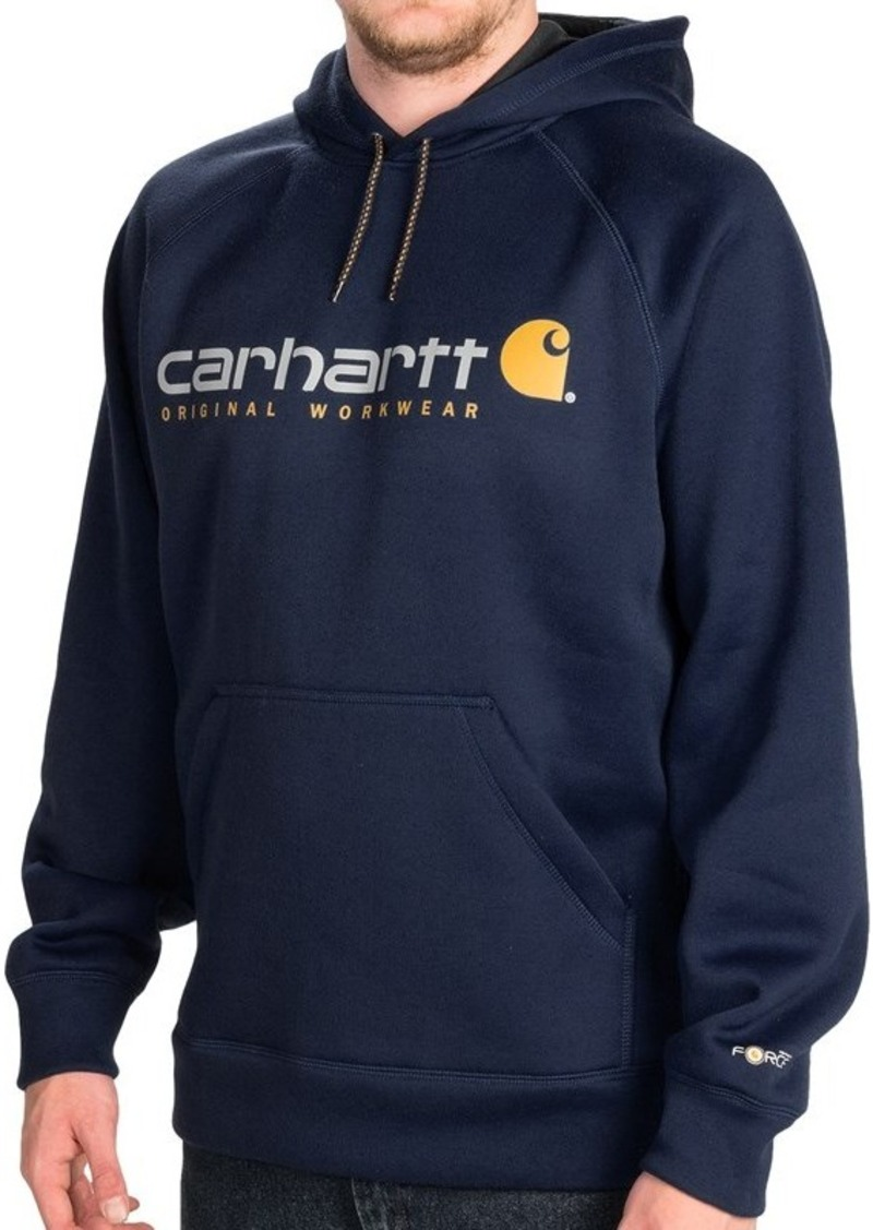 Carhartt carhartt alberton graphic hoodie long sleeve for Big and tall casual shirts