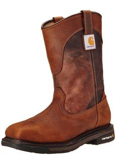 "Carhartt Men's 11"" Wellington Square Safety Toe Work Boot CMP1218  14 W US"