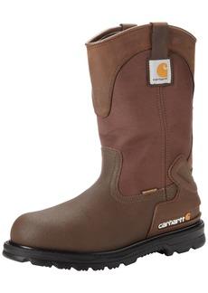 "Carhartt Men's 11"" Wellington Waterproof Steel Toe Pull-On Work Boot CMP1270   M US"