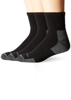 Carhartt Men's 3 Pack Work Quarter Socks  Shoe: 6-12