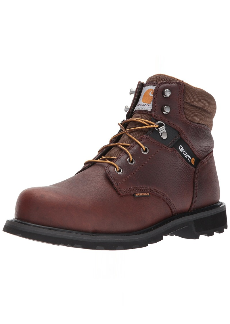 "Carhartt Men's 6"" CMW6264 Leather Waterproof Breathable Steel Toe Work Boot"
