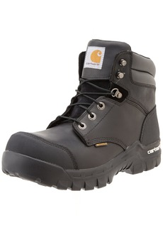 """Carhartt Men's 6"""" Rugged Flex Waterproof Breathable Composite Toe Leather Work Boot CMF637111.5 W US"""
