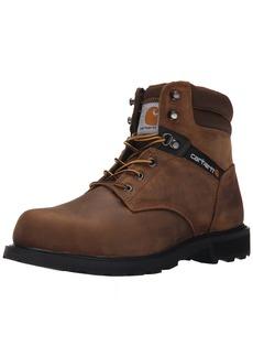 "Carhartt Men's Traditional Welt 6"" Steel Toe Work Boot Construction"