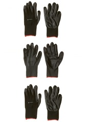 Carhartt Men's All Purpose Micro Foam Nitrile Dipped Glove (3 Pack)  XX-Large