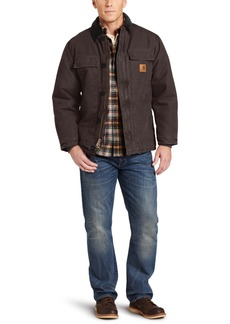 Carhartt Men's Arctic Quilt Lined Sandstone Traditional Coat C26