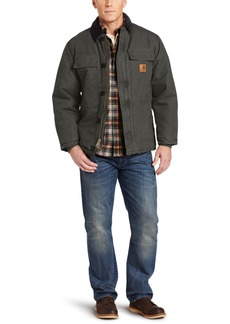 Carhartt Men's Arctic Quilt Lined Sandstone Traditional Coat C26