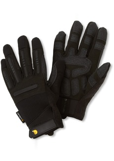 Carhartt Men's Ballistic Spandex Work Glove with TPR Knuckle Protection  XX-Large