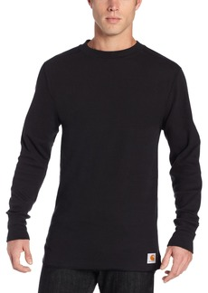 Carhartt Men's Base Force Wicking Cotton Super Cold Weather Crew Neck Top