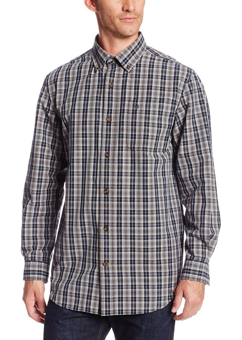 Carhartt carhartt men 39 s bellevue long sleeve shirt plaid for Carhartt men s chamois long sleeve shirt