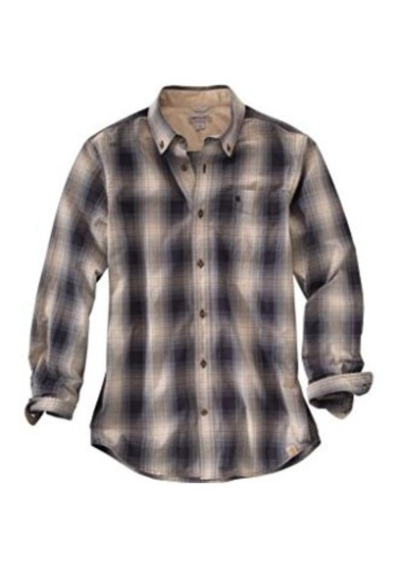 Carhartt carhartt men 39 s big tall bellevue long sleeve for Carhartt men s chamois long sleeve shirt