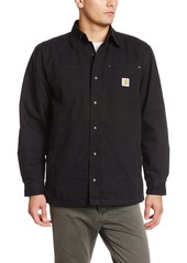 Carhartt Men's Big & Tall Chatfield Ripstop Shirt Jacket Original Fit