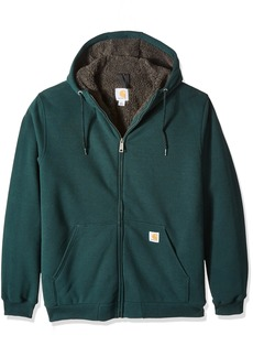 Carhartt Men's Big & Tall Collinston Brushed Fleece Sherpa Lined Sweatshirt