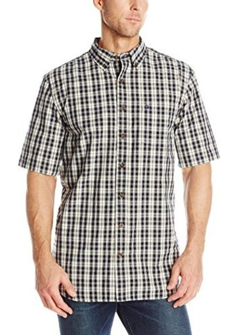 Sale carhartt carhartt men 39 s big tall essential plaid for Big and tall casual shirts