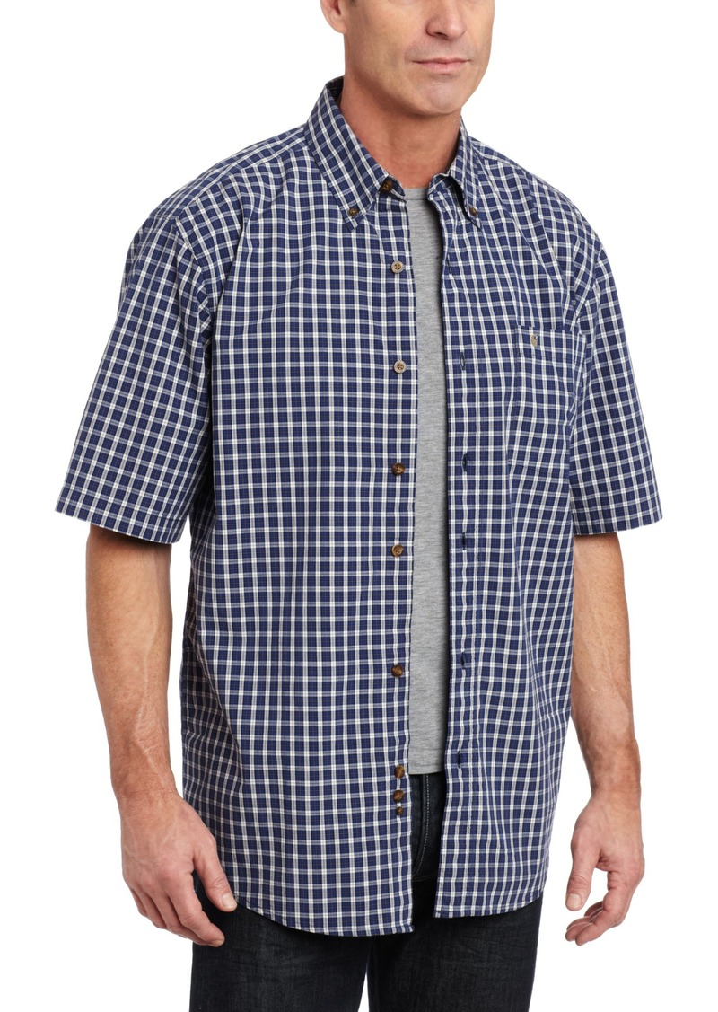 Carhartt carhartt men 39 s big tall essential plaid short for Men s big tall shirts