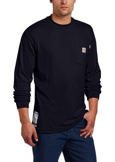 Carhartt Men's Big & Tall Flame Resistant Traditional Long Sleeve T-ShirtXXX-Large Tall