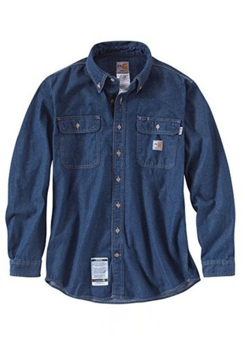 carhartt carhartt men 39 s big tall flame resistant washed