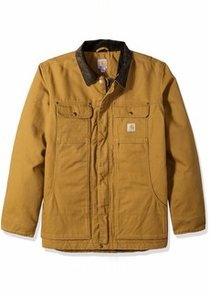 Carhartt Men's Big & Tall Full Swing Traditional Coat carhartt brown 3X-Large