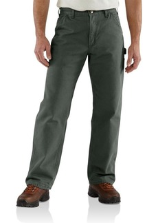 Carhartt Men's Loose Fit Washed Duck Flannel-Lined Utility Work Pant  35 x 30
