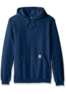 Carhartt Men's Big & Tall Midweight Sweatshirt Hooded Pullover Original Fit  Large/Tall