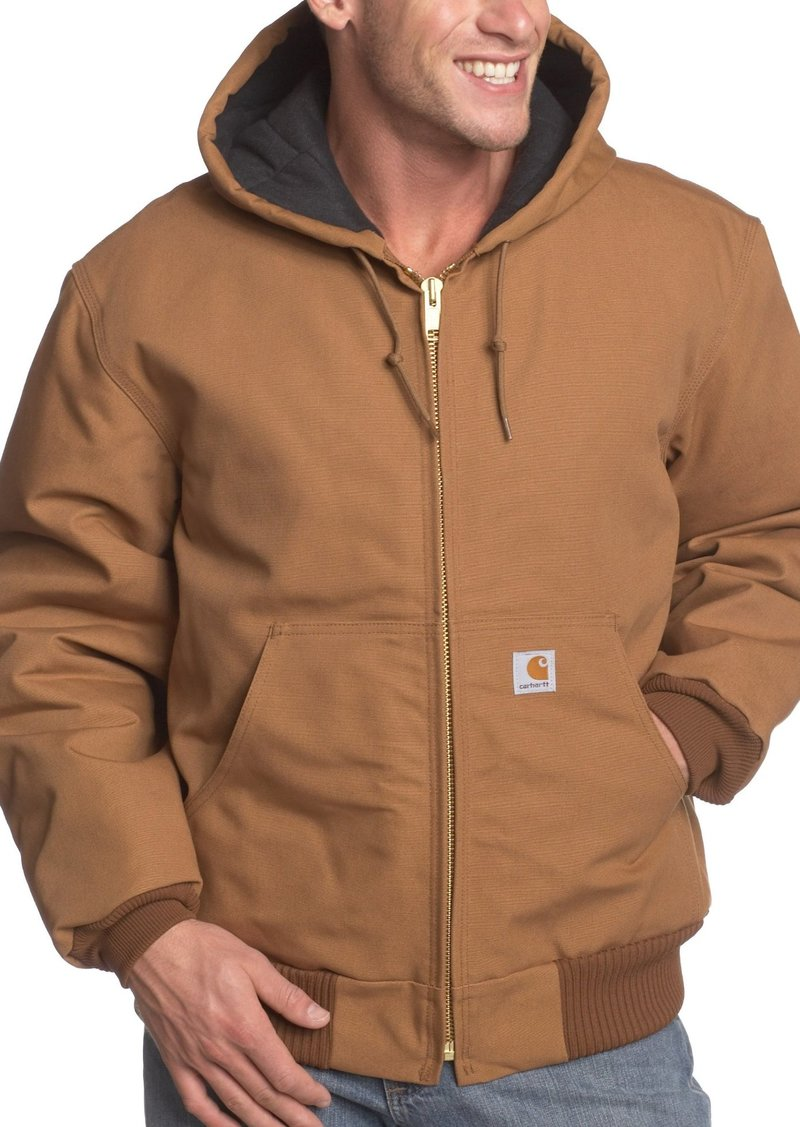 154efc05f00 Carhartt Carhartt Men's Big & Tall Quilted Flannel Lined Duck Active ...