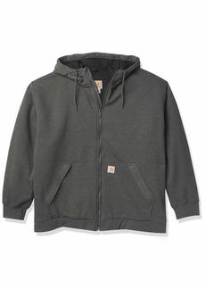 Carhartt Men's Big & Tall Rain Defender Loose Fit Midweight Thermal-Lined Full-Zip Sweatshirt  /Tall