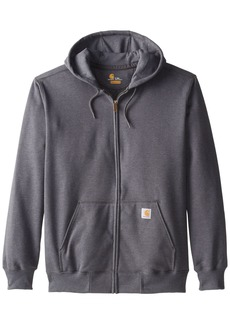 Carhartt Men's Big & Tall Rain Defender Paxton Heavyweight Hooded Zip Front Sweatshirt