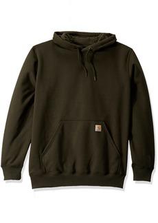 Carhartt Men's Big & Tall Rain Defender Paxton HW Hooded Sweatshirt peat 4X-Large