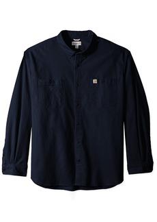 Carhartt Men's Big & Tall Rugged Flex Rigby Long Sleeve Work Shirt