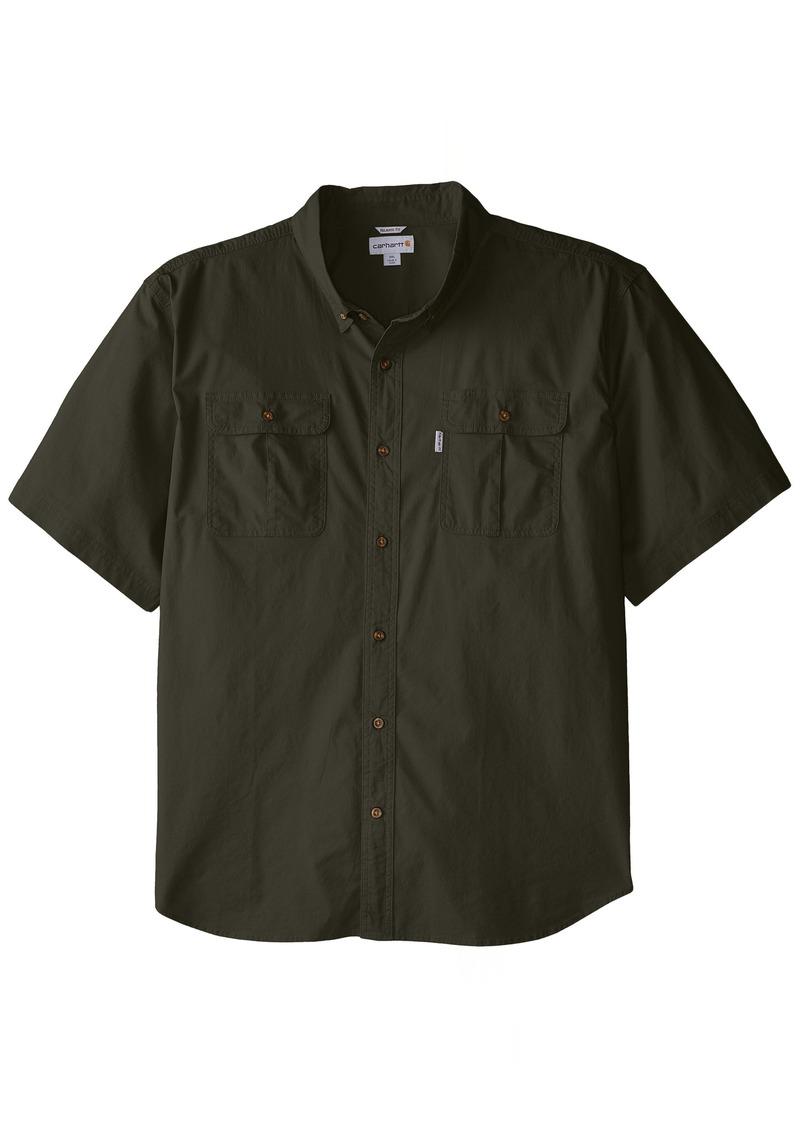Carhartt carhartt men 39 s big tall short sleeve solid work for Carhartt work shirts tall
