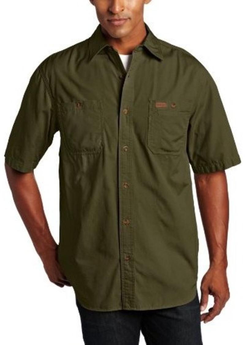 Carhartt carhartt men 39 s big tall trade short sleeve for Mens tall button down shirts