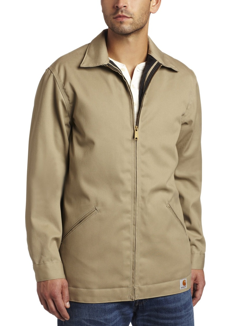 Carhartt Carhartt Menu0026#39;s Big u0026 Tall Twill Work Jacket Khaki (Closeout) | Outerwear - Shop It To Me