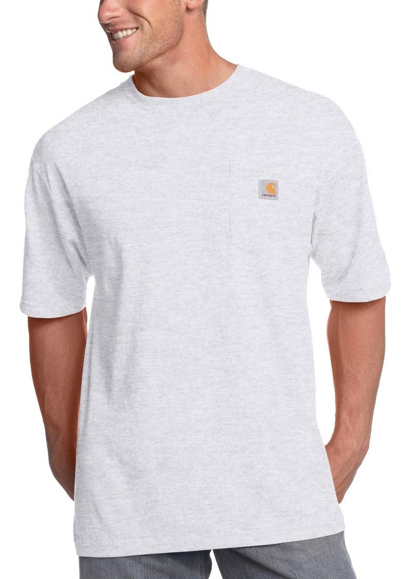 36d8250030 Carhartt Men's Big & Tall Workwear Pocket Short Sleeve T-Shirt Original Fit  K873X-