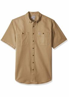 Carhartt Men's Big and Tall Big & Tall Rugged Flex Rigby Short Sleeve Work Shirt  4X-Large