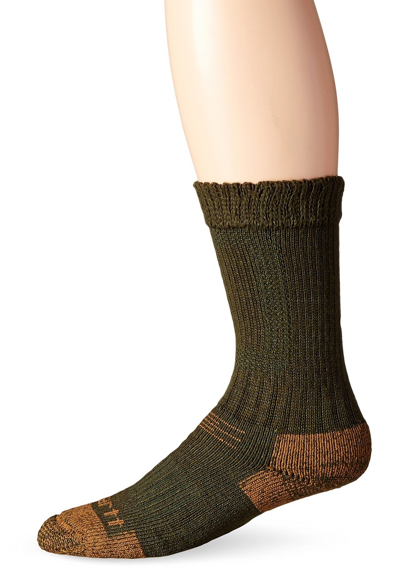 Carhartt Men's Big and Tall Comfort Stretch Steel Toe Socks  Shoe Size: 11-15