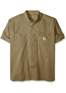 Carhartt Big and Tall Men's Big & Tall Force Ridgefield Solid Long Sleeve Shirt  3X-Large