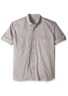 Carhartt Men's Big and Tall Force Ridgefield Solid Long Sleeve Shirt  3X-Large